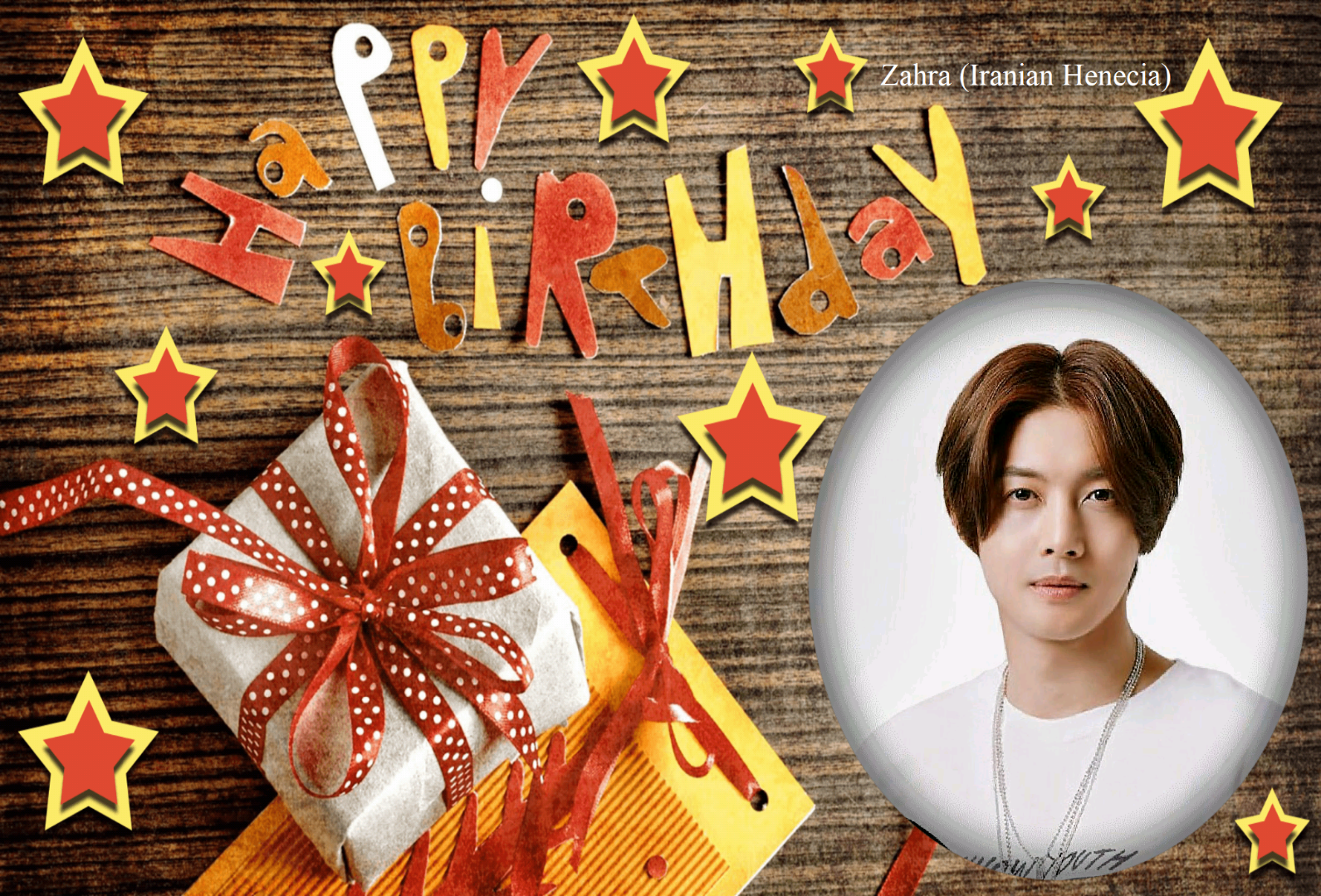 (My Fanart from Happy 32th Birtday of KHJ (4