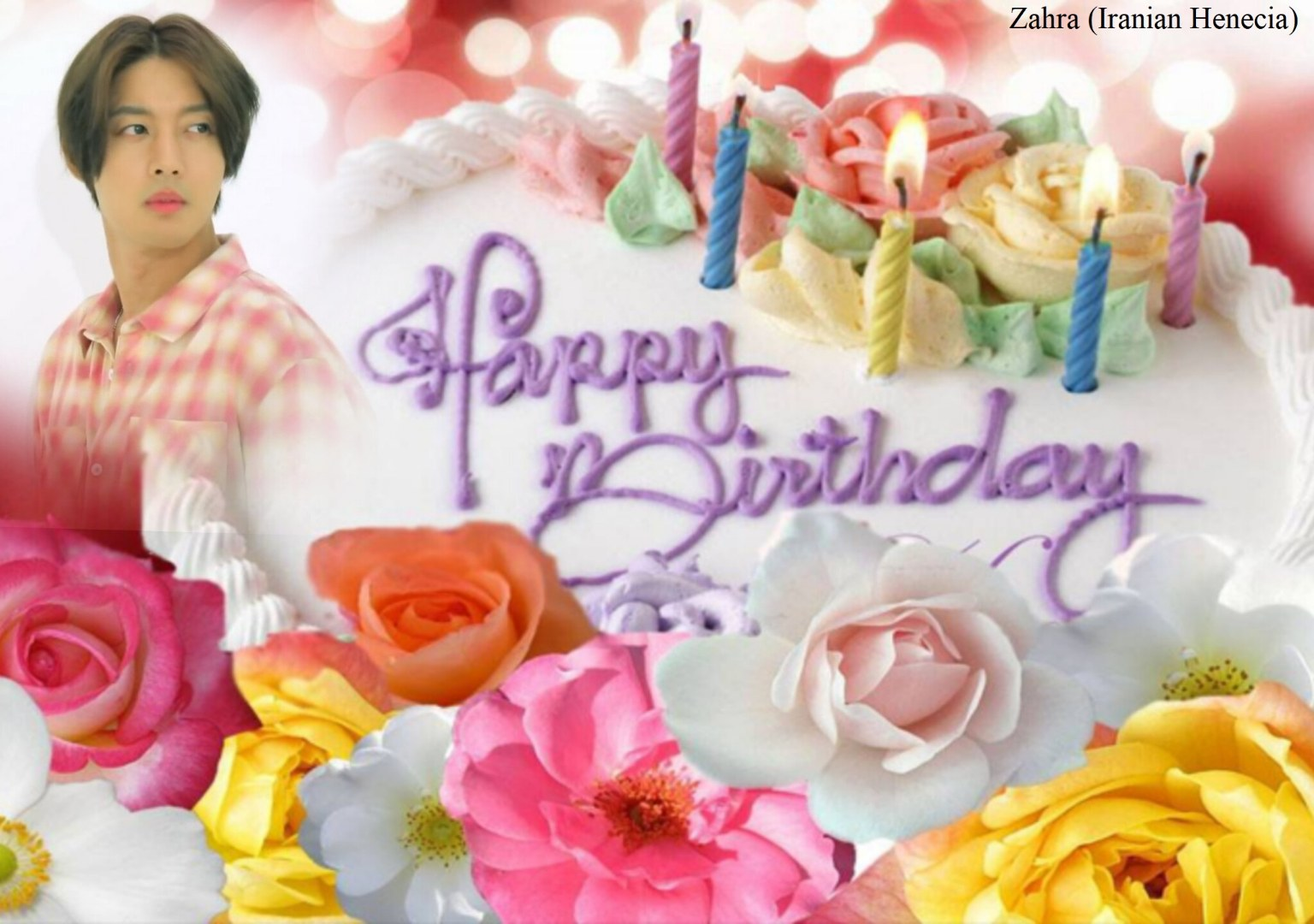 (My Fanart from Happy 32th Birtday of KHJ (6