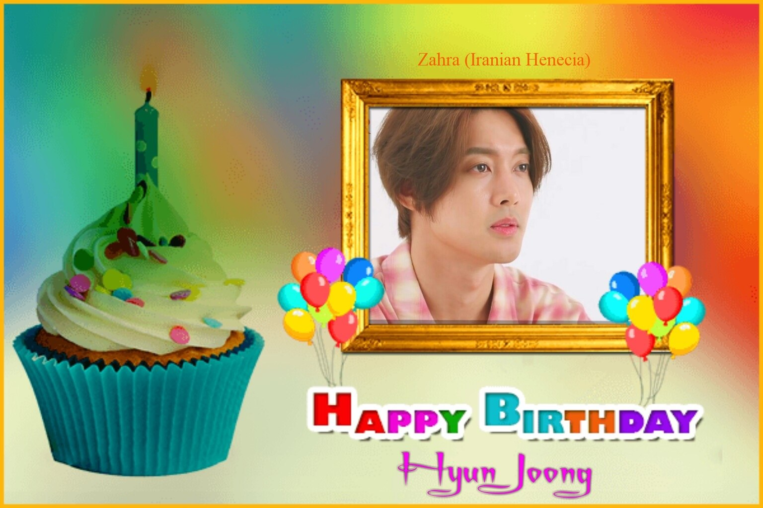 (My Fanart from Happy 32th Birtday of KHJ (7