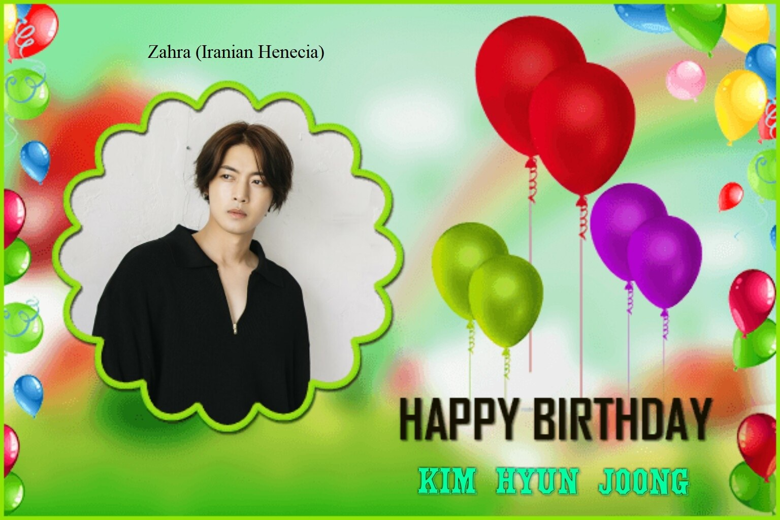 (My Fanart from Happy 32th Birtday of KHJ (20