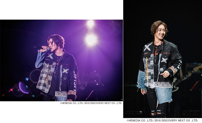 Henecia JP 18.07.23 ~ Together with Take my hand' JP Tour about applying together