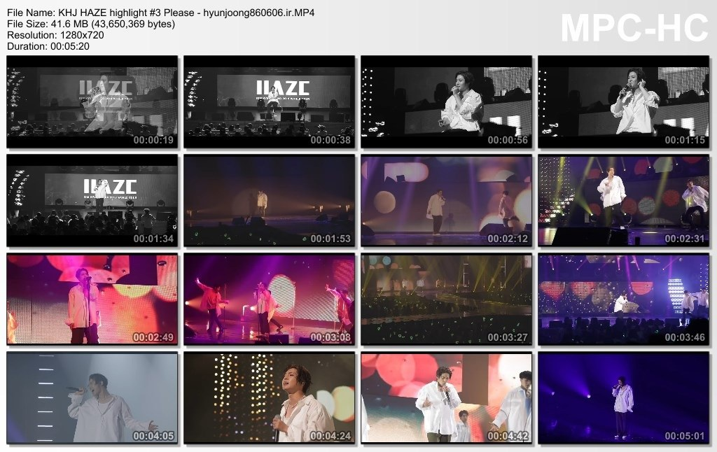 [Video] Kim Hyun Joong Official Site and You.Tube Update ~ HAZE highlight #3 Please [2018.06.08]