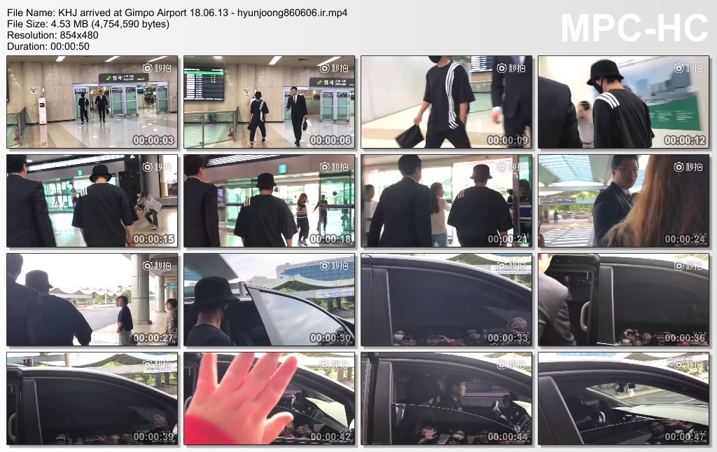 KHJ arrived at Gimpo Airport 18.06.13 - hyunjoong860606.ir