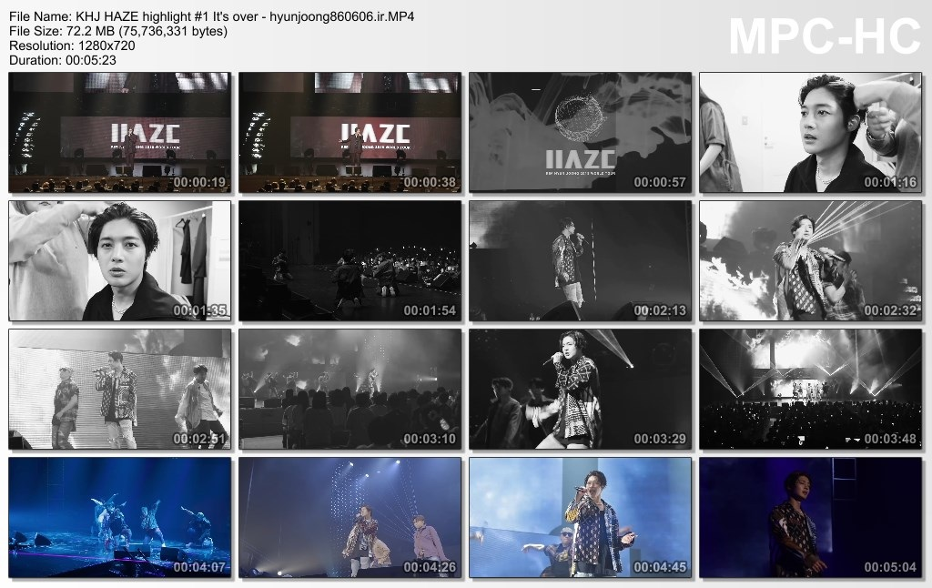 KHJ HAZE highlight 1 It's over - hyunjoong860606.ir