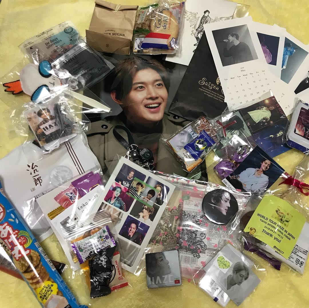 (Official Goods & Gifts from Henecia in HAZE Tour (2