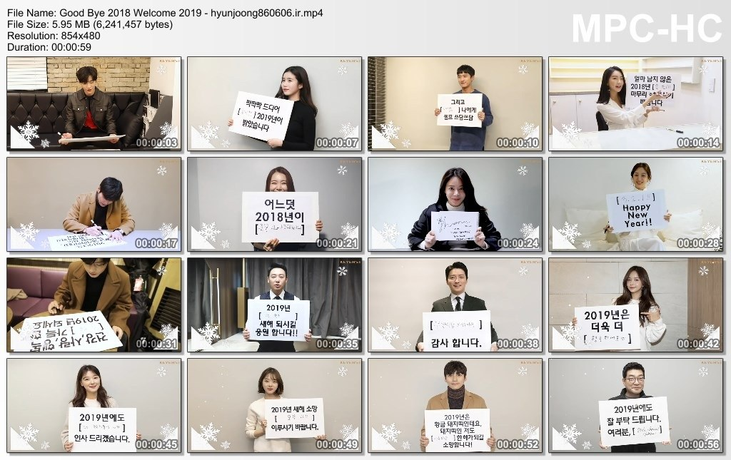 [Video] Keyeast Official FB and YT Update [2019.01.02]