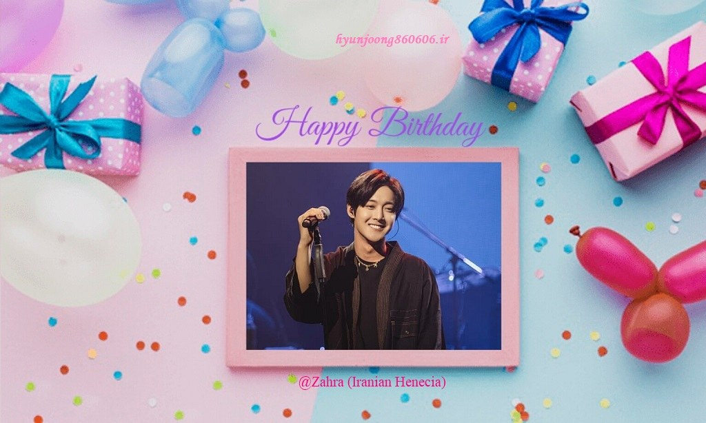 Happy 34th Birtday of Kim Hyun Joong - 2020.06.06
